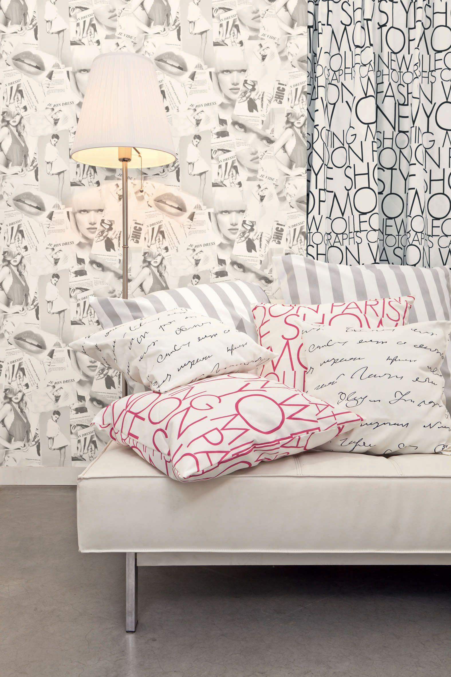 Collection : LOVE / Magazine, zoom #Papierpeint #decoration ...