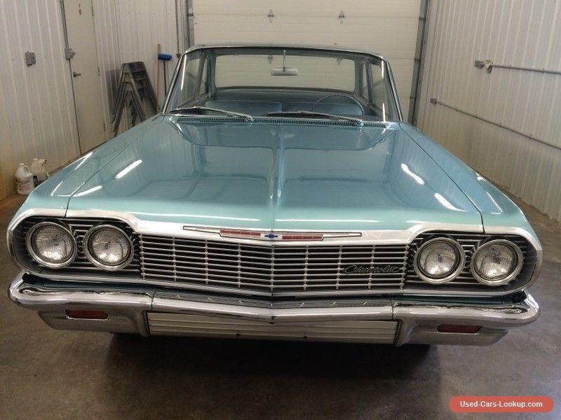 1964 Chevrolet Impala Biscayne Chevrolet Impala Forsale Canada