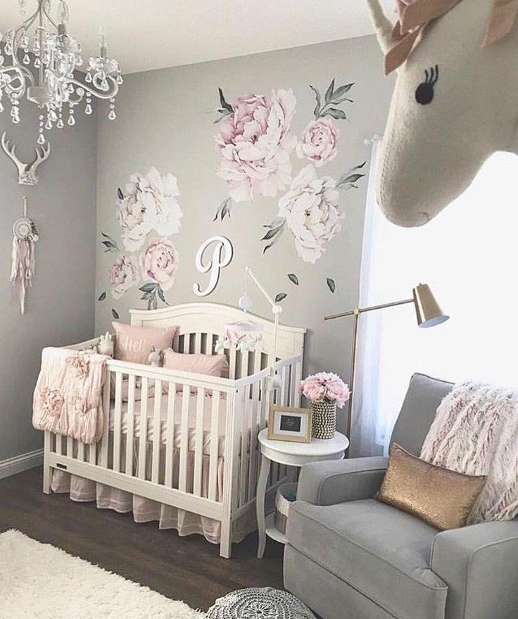 27 niedliche BabyzimmerIdeen Kinderzimmer Dekor für