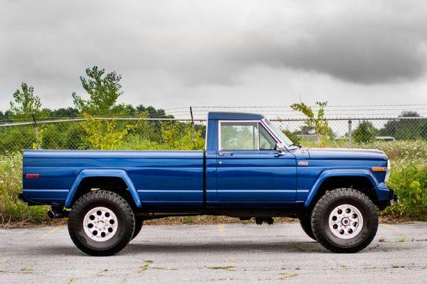 Rollin In A Cummins Powered Jeep J20 Jeep Truck Jeep Pickup Truck Jeep Wagoneer