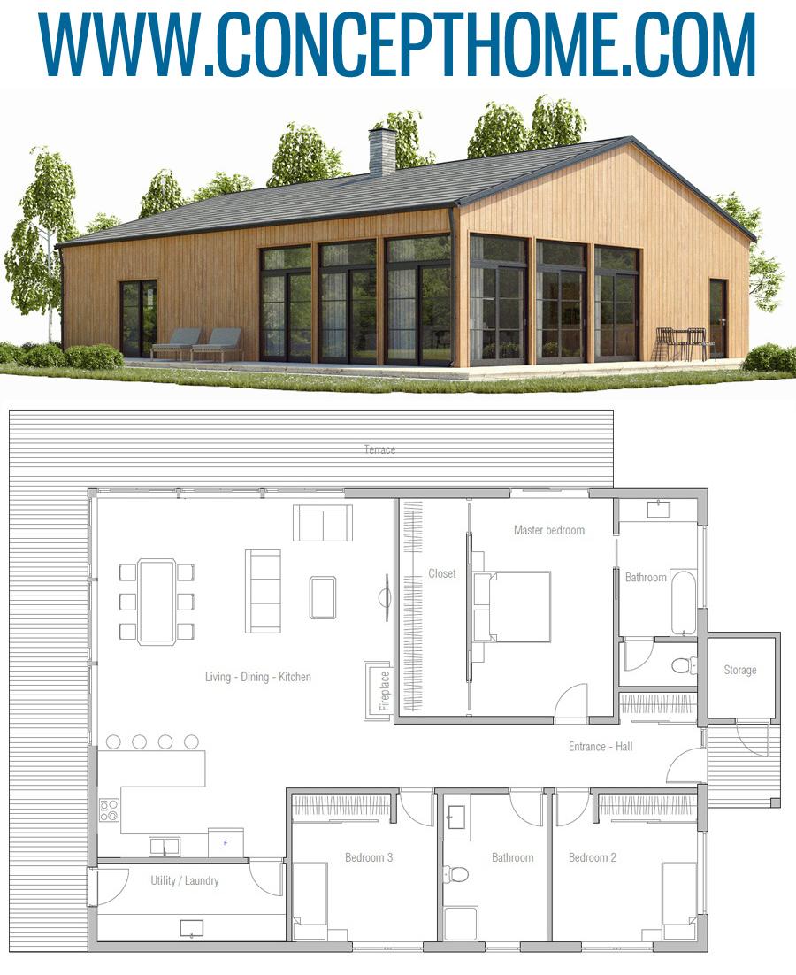 Home Design Smallhouse: House Plan, Home Plans, House Designs #homeplans