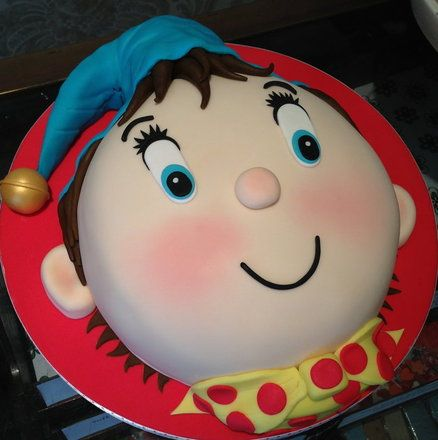 Noddy Cake By Flourpowerbynina Noddy Cake Cartoon Cake Kids Cake