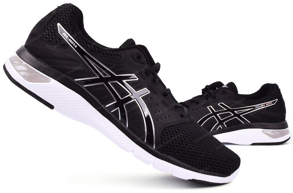 ASICS GEL MOYA Men's Running Shoes Black Walking Training