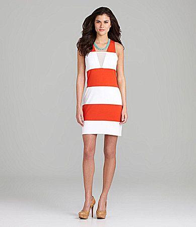 Gianni Bini Shona Mesh Dress #Dillards