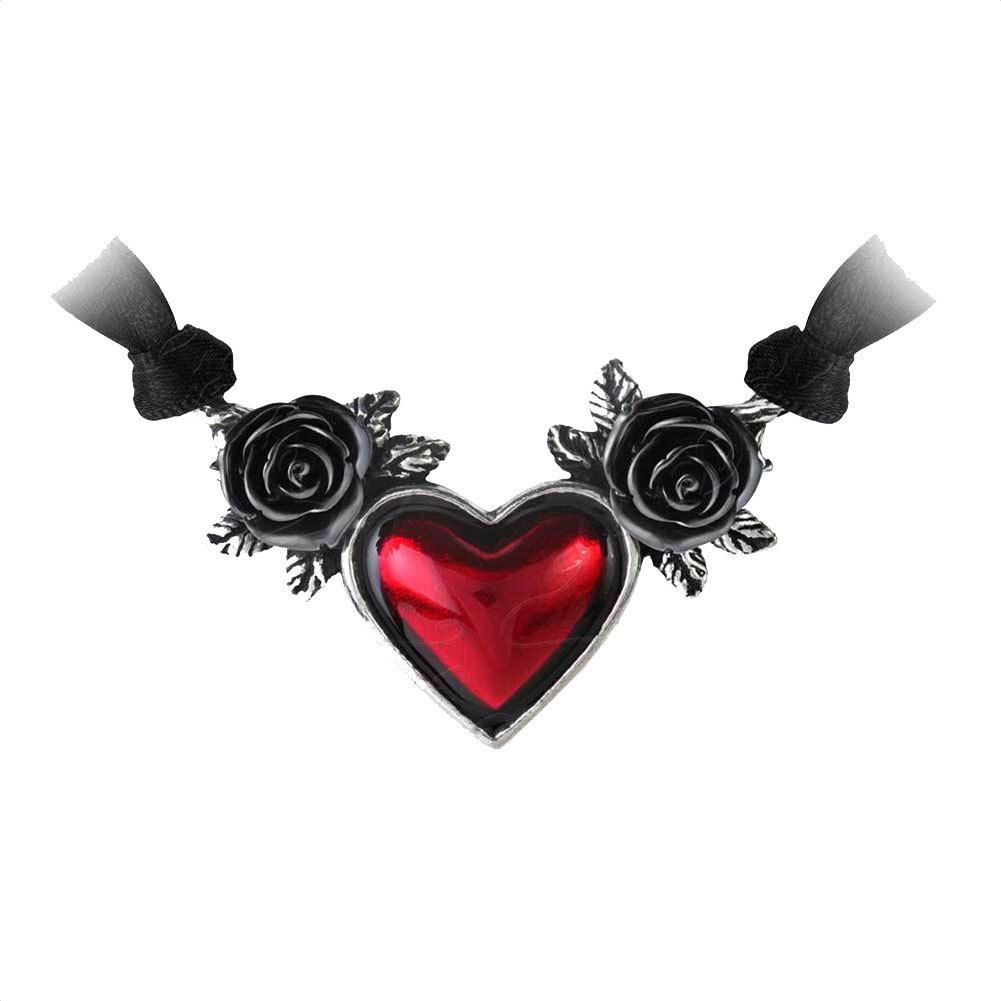 Purple Leopard Boutique - Blood Heart Pendant and Necklace by Alchemy Gothic Pewter Jewelry P746 Black Roses, $36.00 (http://www.purpleleopardboutique.com/blood-heart-pendant-and-necklace-by-alchemy-gothic-pewter-jewelry-p746-black-roses/)