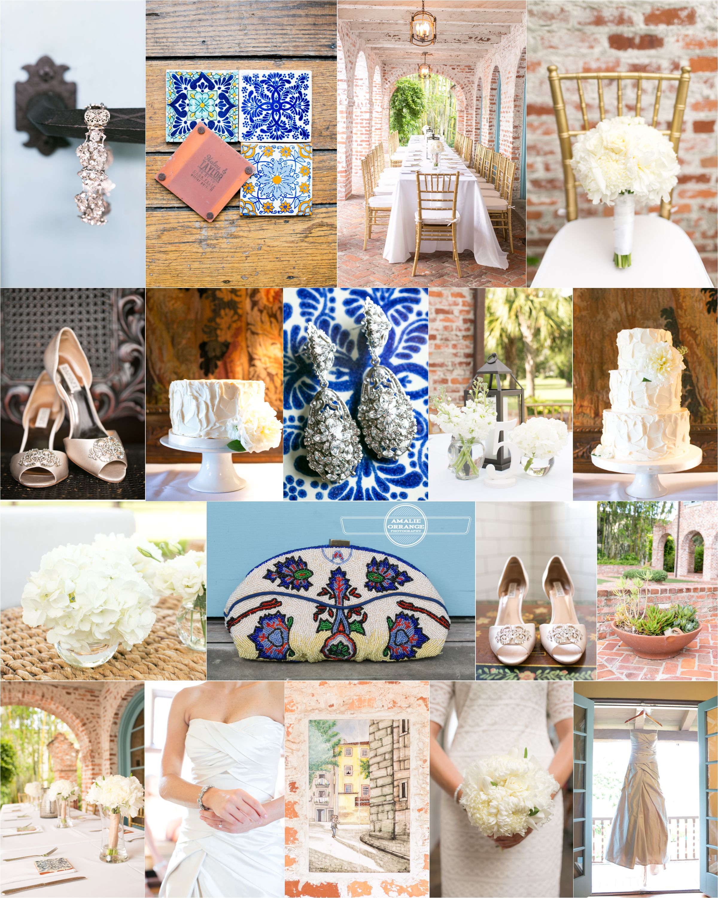 Casa Feliz Wedding Blue Spanish Tile Decor And Details