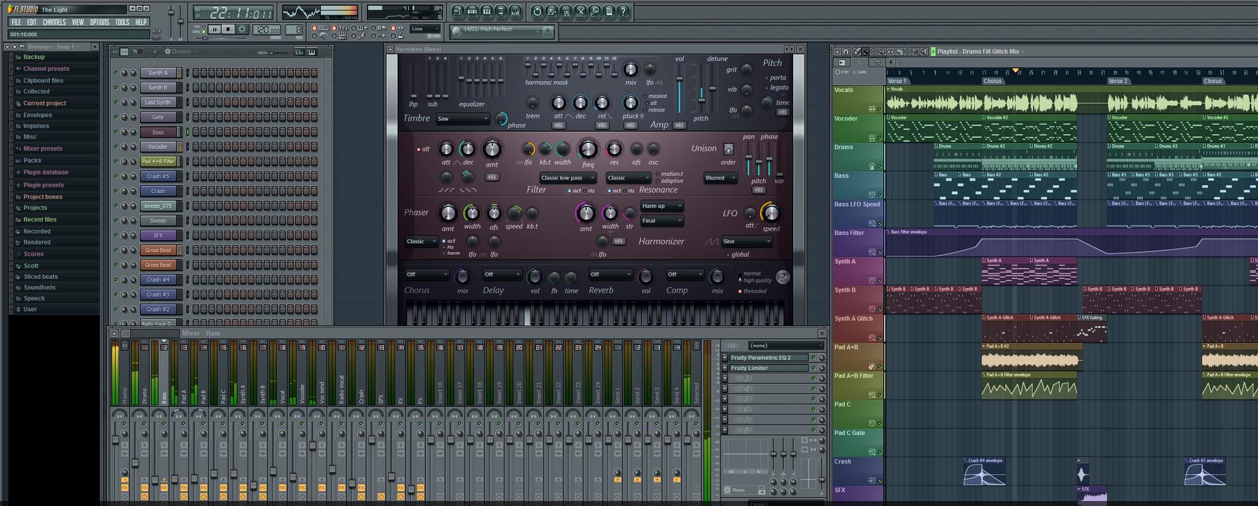 FL Studio 10 Martin garrix, Vocal, Tutorial
