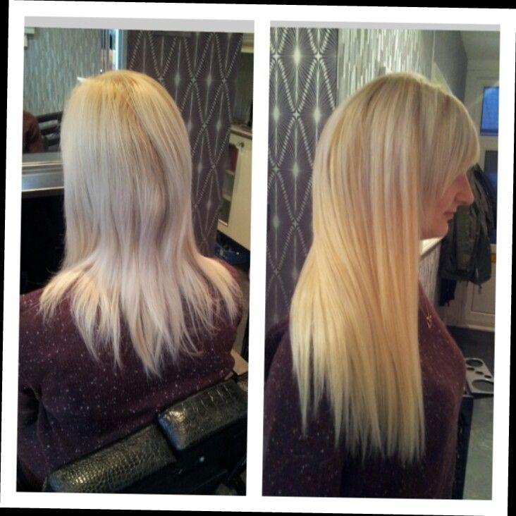 Before And After 175 Dovernt Hair Extensions Pinterest