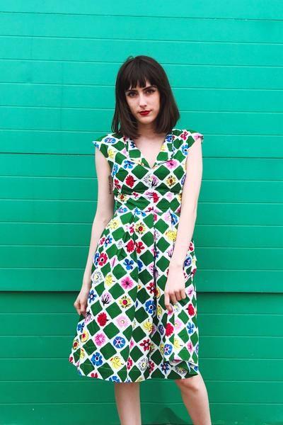 Zephyr dress from uk designer emily  amp fin now available in sizes xxs  also rh pinterest