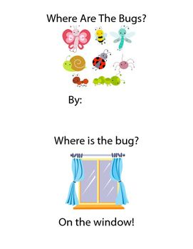 Free! Where Is The Bug? Emergent Reader with Preposition Practice