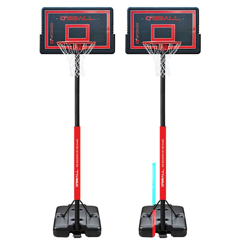 ENFORCER PORTABLE BASKETBALL SYSTEM sturdy with safety