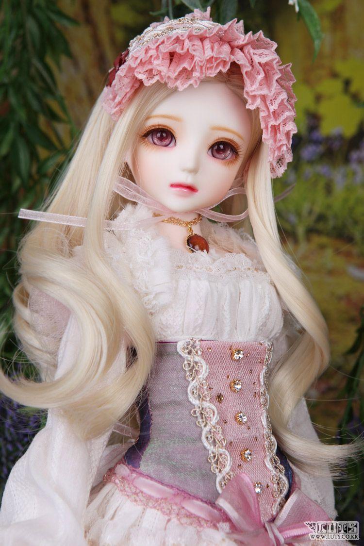 Kid Delf Irus 40cm From Luts Doll Bjd Realskinwhite Balljointeddoll