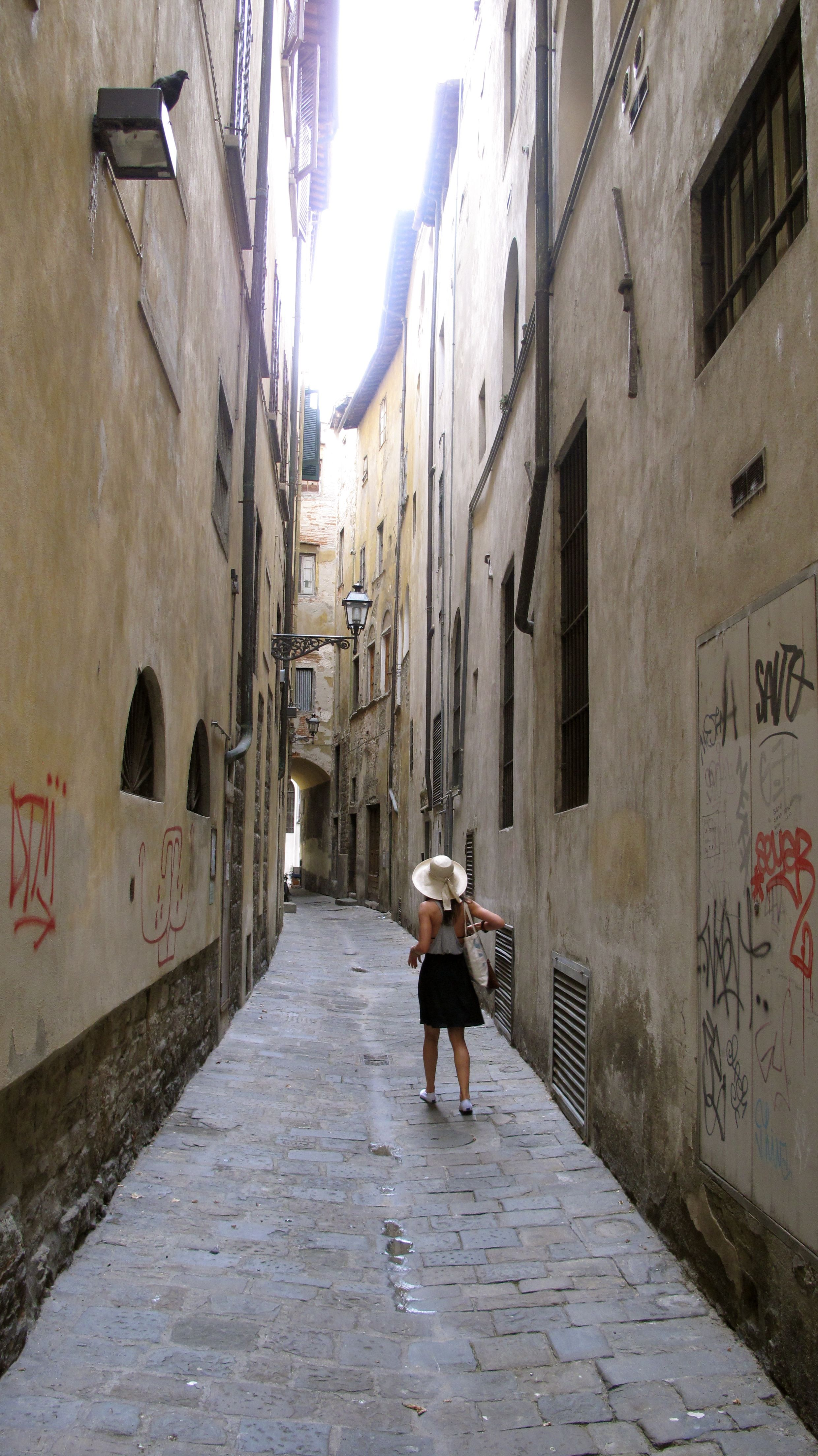 Narrow streets of Florence