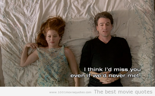 The Wedding Date My Favorite Romantic Movie Quotes Best Movie Quotes Favorite Movie Quotes
