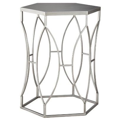 Threshold  Metal Accent Table   Silver   Target  47 99 bathroom. Threshold  Metal Accent Table   Silver   Target  47 99 bathroom