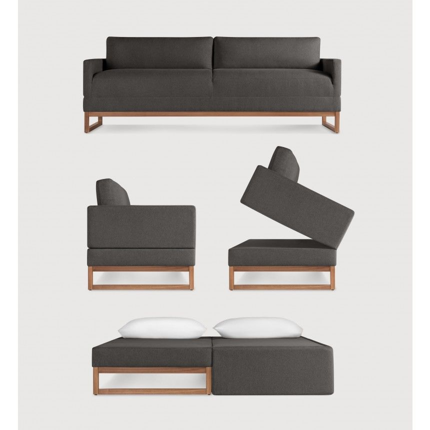 Swell The Diplomat Sleeper Sofa Packwood Charcoal Modern Inzonedesignstudio Interior Chair Design Inzonedesignstudiocom