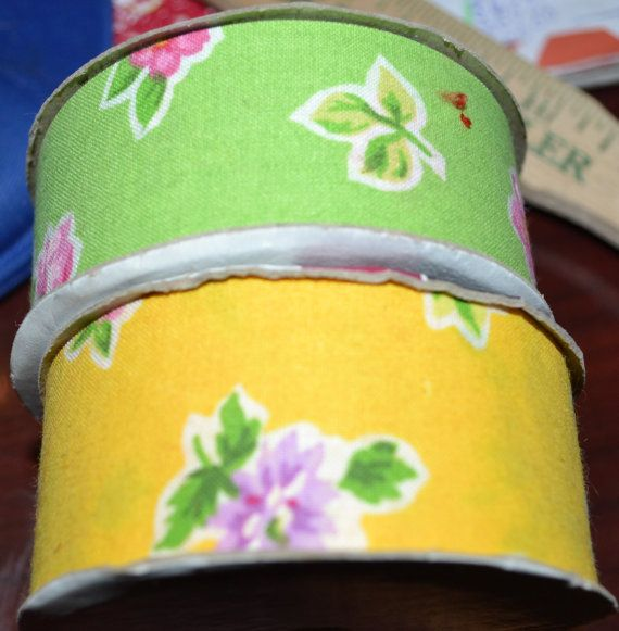 24 feet floral vintage Offray Ribbon by RoxanasTreasures on Etsy, $10.00