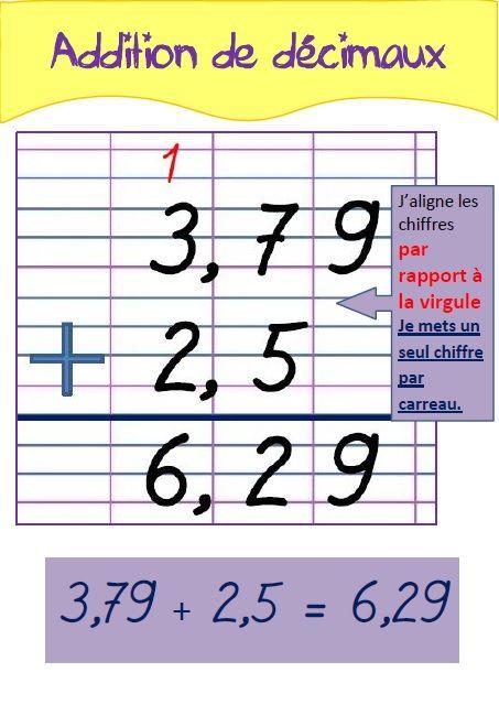 Toutes mes affiches de techniques op ratoires pinterest nombre entier les nombres d cimaux - Calcul nombre de parpaing ...