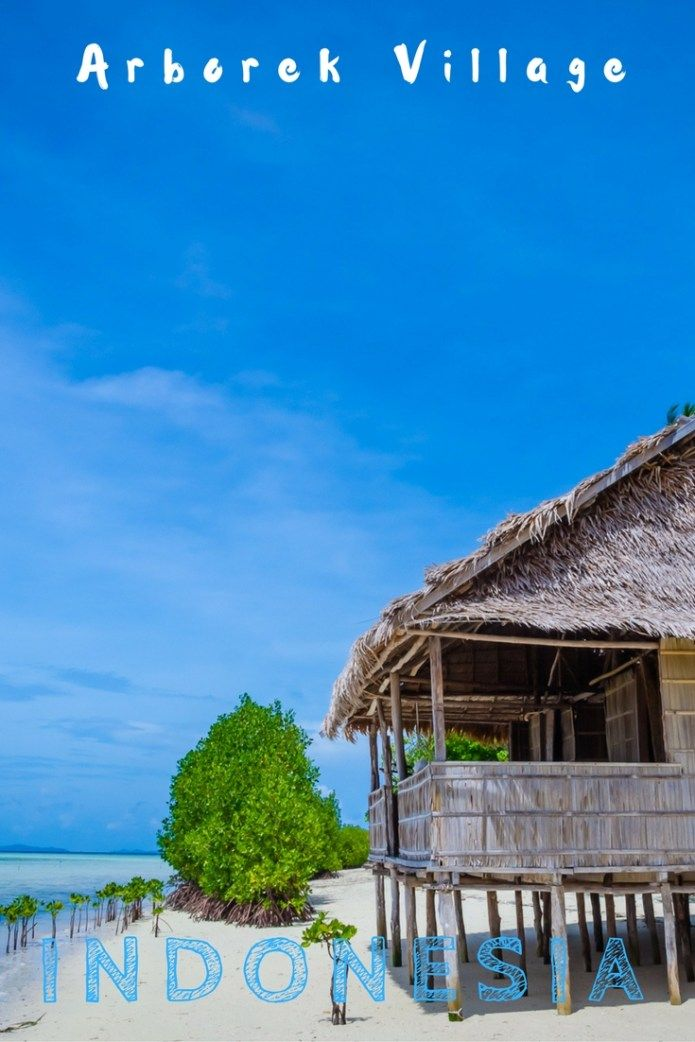 Arborek Tourism Village Raja Ampat West Papua  Indonesia