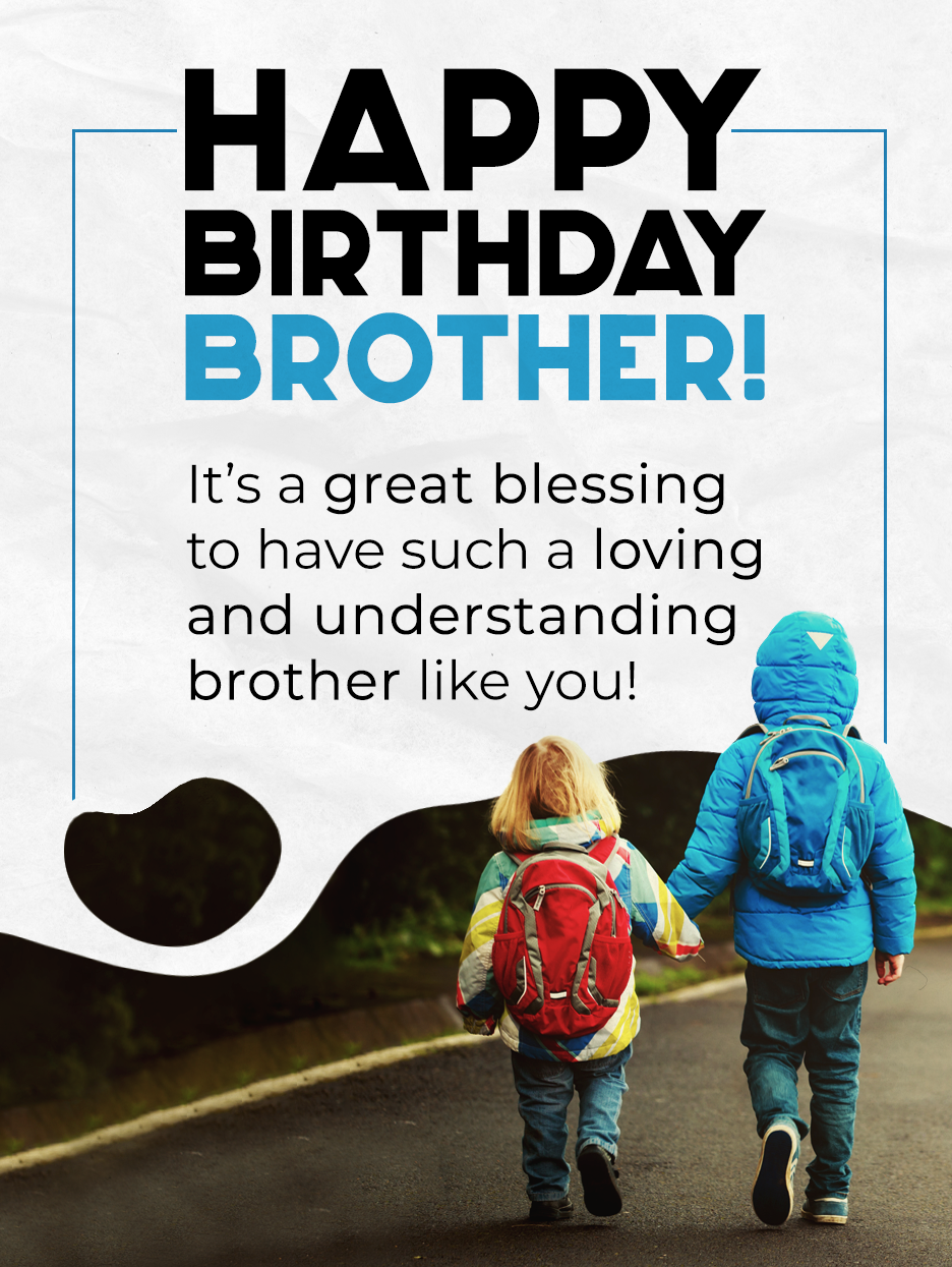 Hand In Hand Birthday Card For Brother Birthday Greeting Cards By Davia Birthday Cards For Brother Happy Birthday Brother Cool Birthday Cards