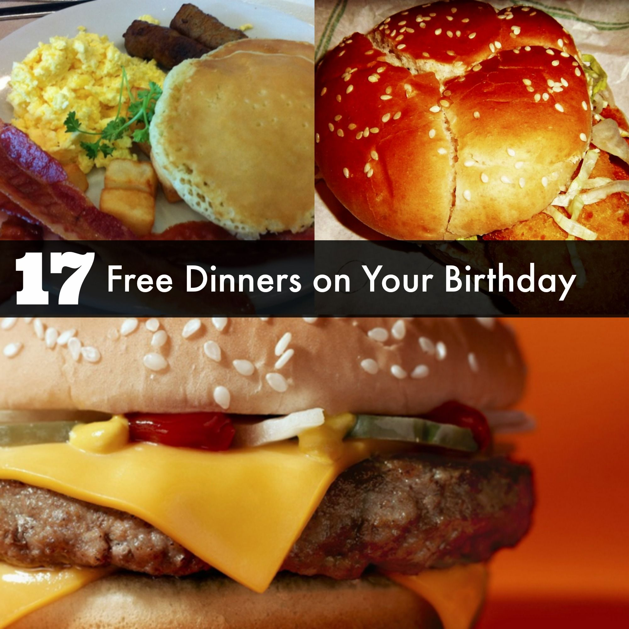 Want A Free Meal On Your Birthday We Can Tell You The Best Places To