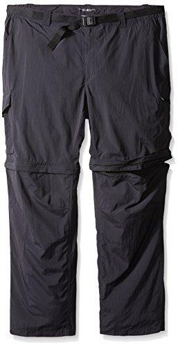 Introducing Columbia Sportswear Mens Big And Tall Silver Ridge Convertible Pant Black 44 X 34inch Great Product An Mens Big And Tall Pants Columbia Sportswear