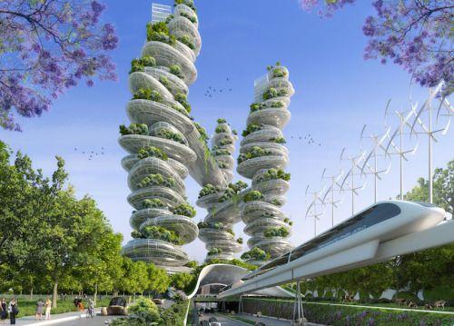 Paris Smart City 2050      by Vincent Callebaut