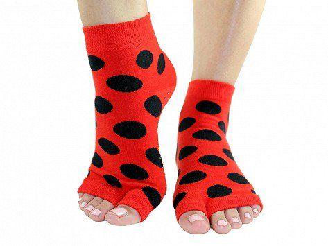 toezies nonslip fitness/lounge socks  socks toe socks