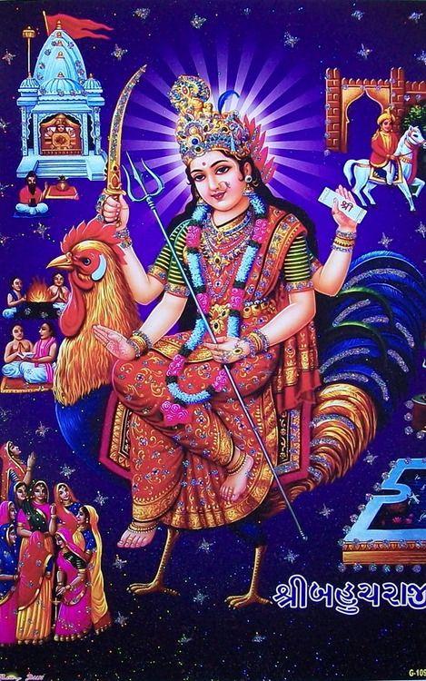 Shri Bahuchar Maa Kali Hindu Hindu Deities Durga Goddess