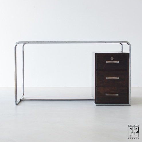 B 282 writing desk by Bruno Weil for sale at