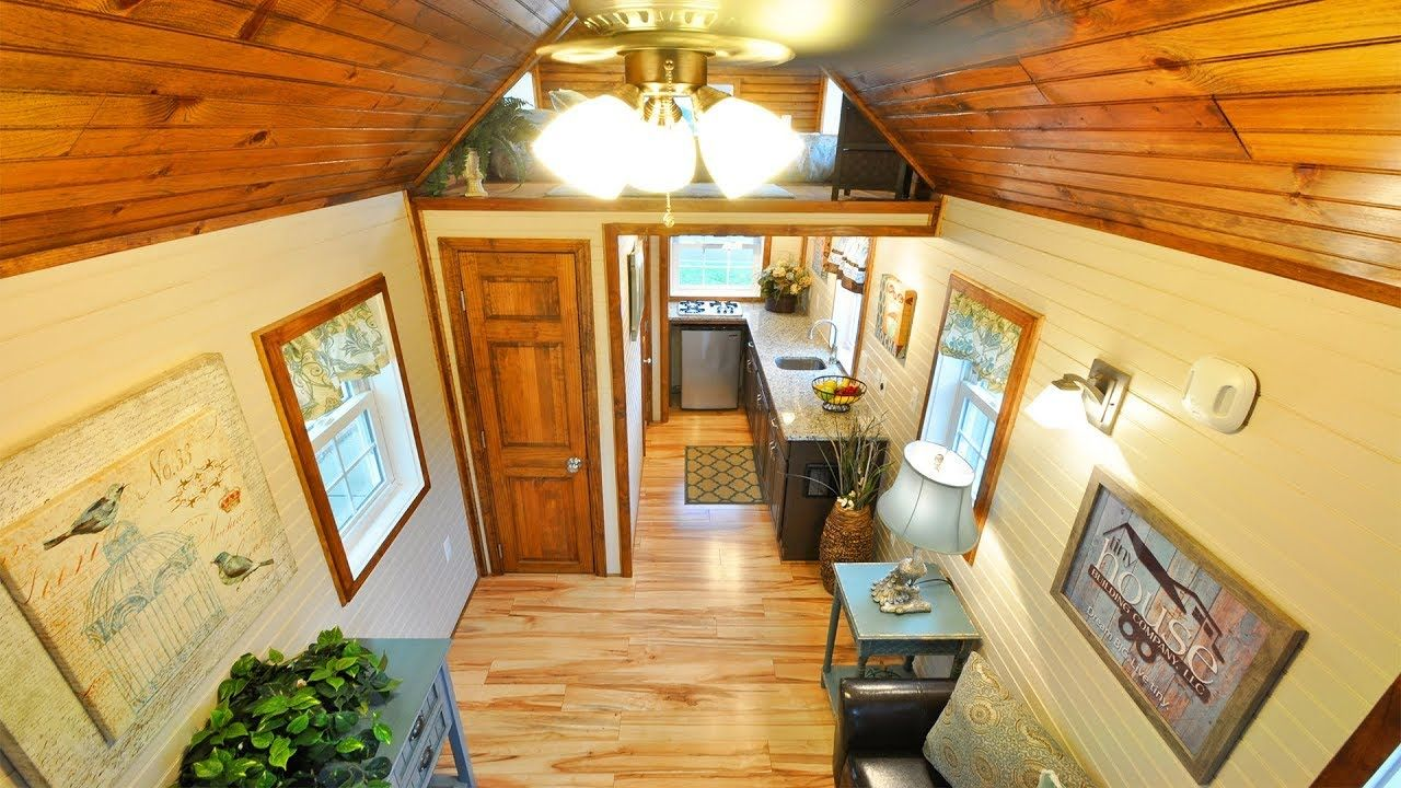 Home interior design-ideen für kleines haus gorgeous cozy the pioneer tiny house by tiny house building company