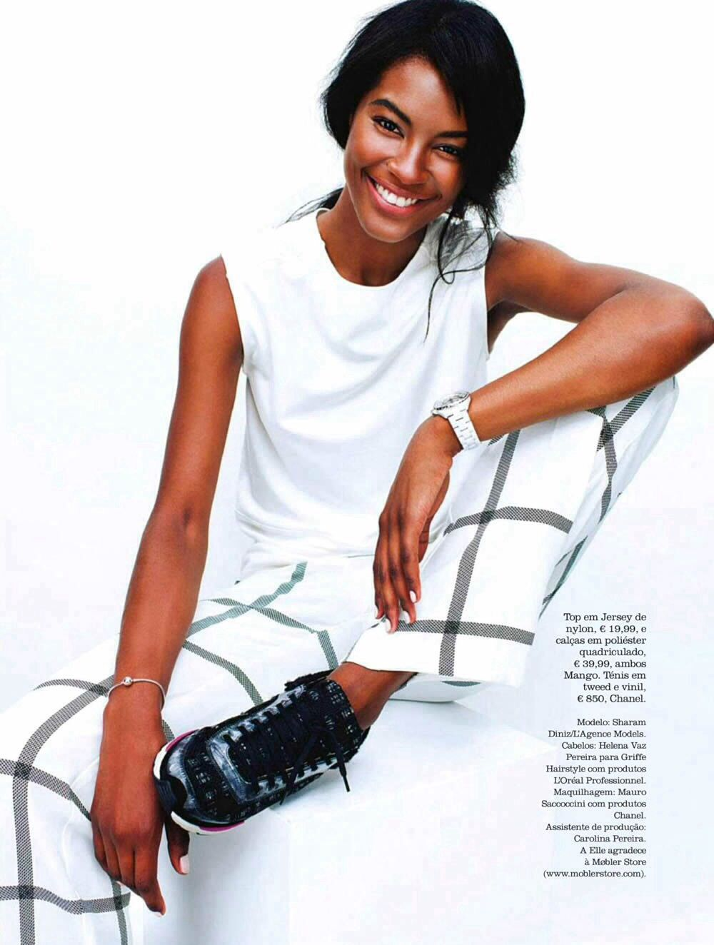 Sharam Diniz for Elle Portugal