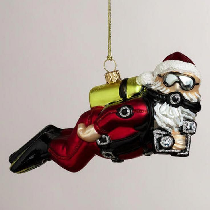 Holiday Gift Ideas: Scuba Diving Ornaments | Scuba Diving ...
