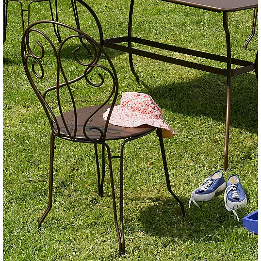 Chaise FERMOB lot de 2 chaises empilables Montmartre prix promo ...
