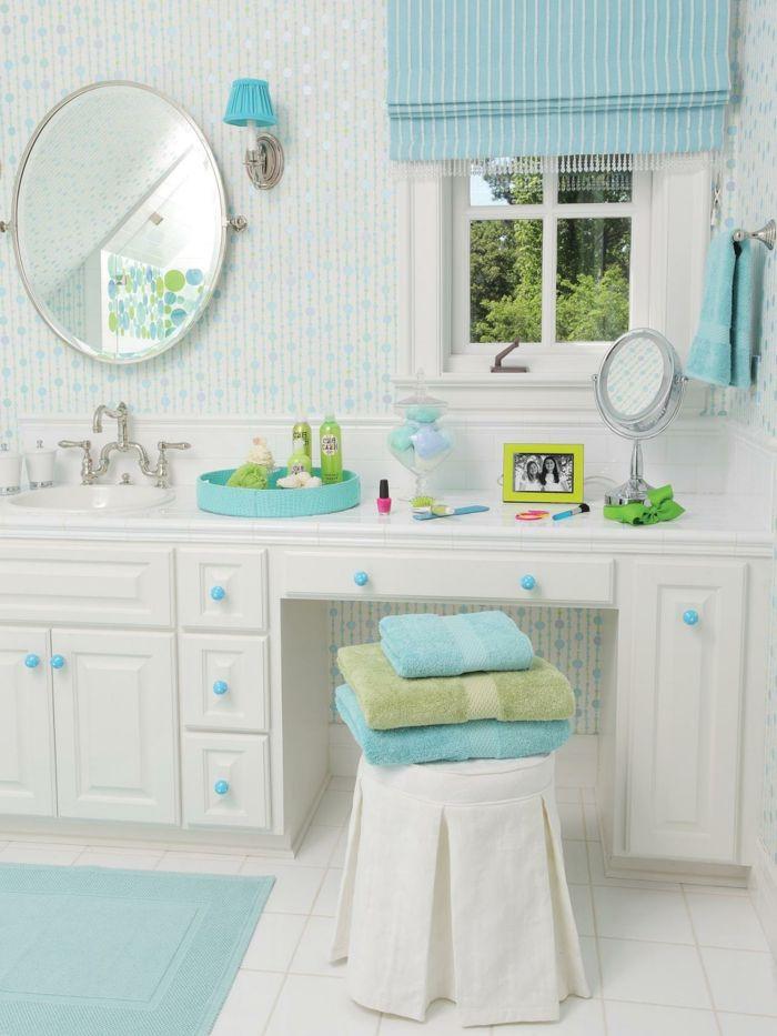 ▷ 1001+ designs uniques pour une salle de bain turquoise Deco and