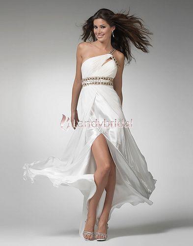 Evening Dresses Occasion Dresses One Shoulder Floor Length
