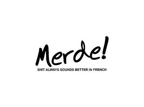 Even shit sound better in French ;-)