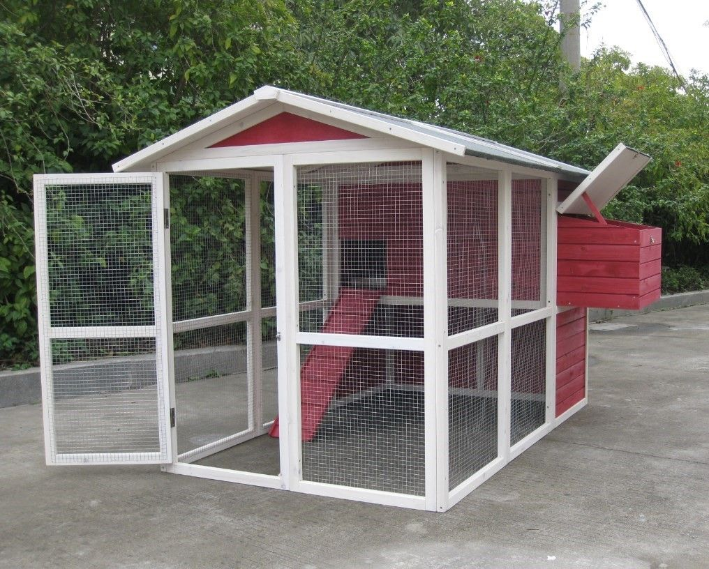 Coops & Feathers Walk-In Chicken Home 220-55   Best ...