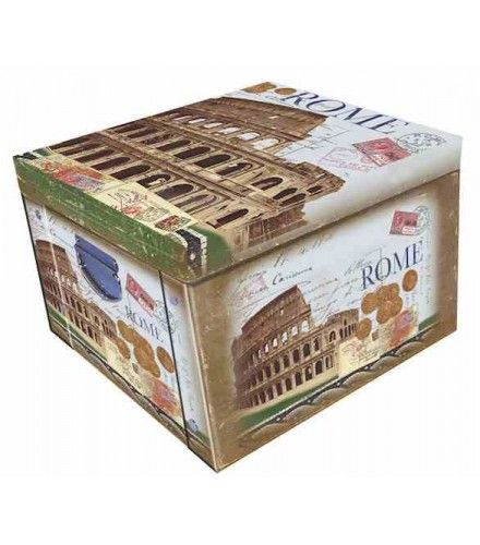 Decorative Stationery Boxes Cool Rome Postcard Designmartin Wiscombe Large Collapsible Storage Inspiration
