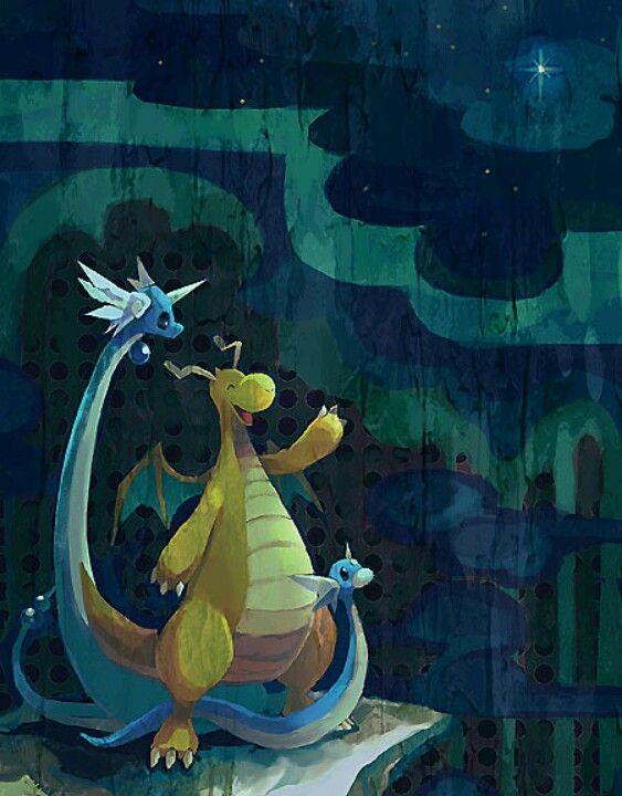 dratini, dragonair, and dragonite | Pikachu.... I choose ...  dratini, dragon...