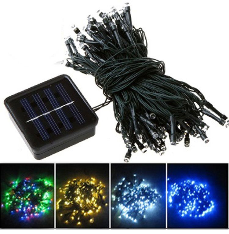 Series 30 LED Solar String Lights Can Be Charged By The Sunlight. Fully  Solar Powered With Rechargeable Battery Installed,Auto Sensor Controls  Lighting And ...