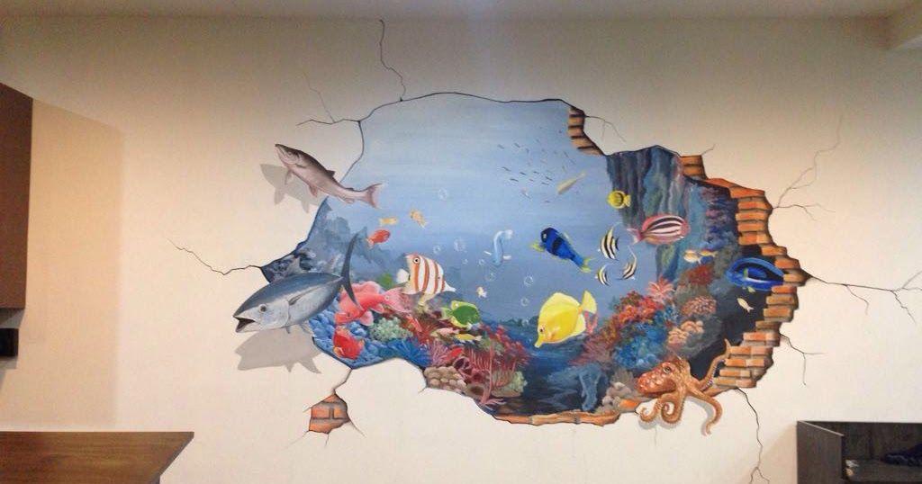 21 Gambar Lukisan Dinding Yang Mudah Di 2020 Lukisan Dinding Dinding Gambar Mural