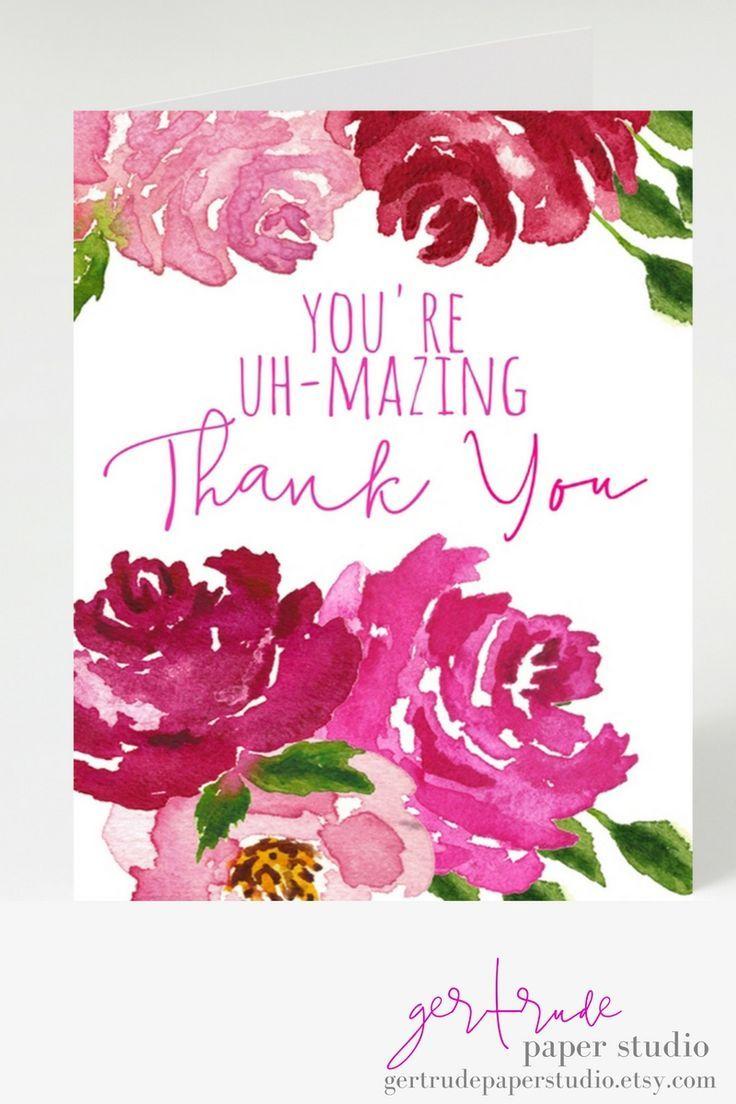 Wedding thank you stationery - thank you card - funny bridal shower ...