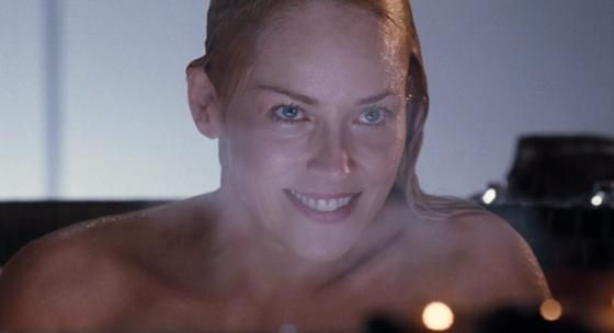 hot Sharon tub stone
