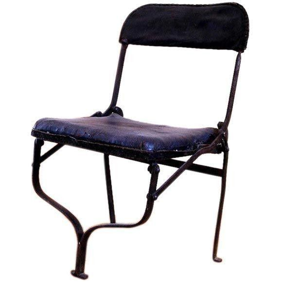 French Chaise A Tin Folding Chair 675 Est Retail 275 On Chairish