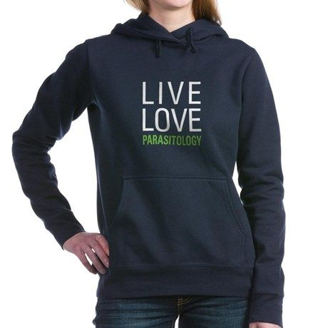 Live Love Parasitology Women's Hooded Sweatshirt