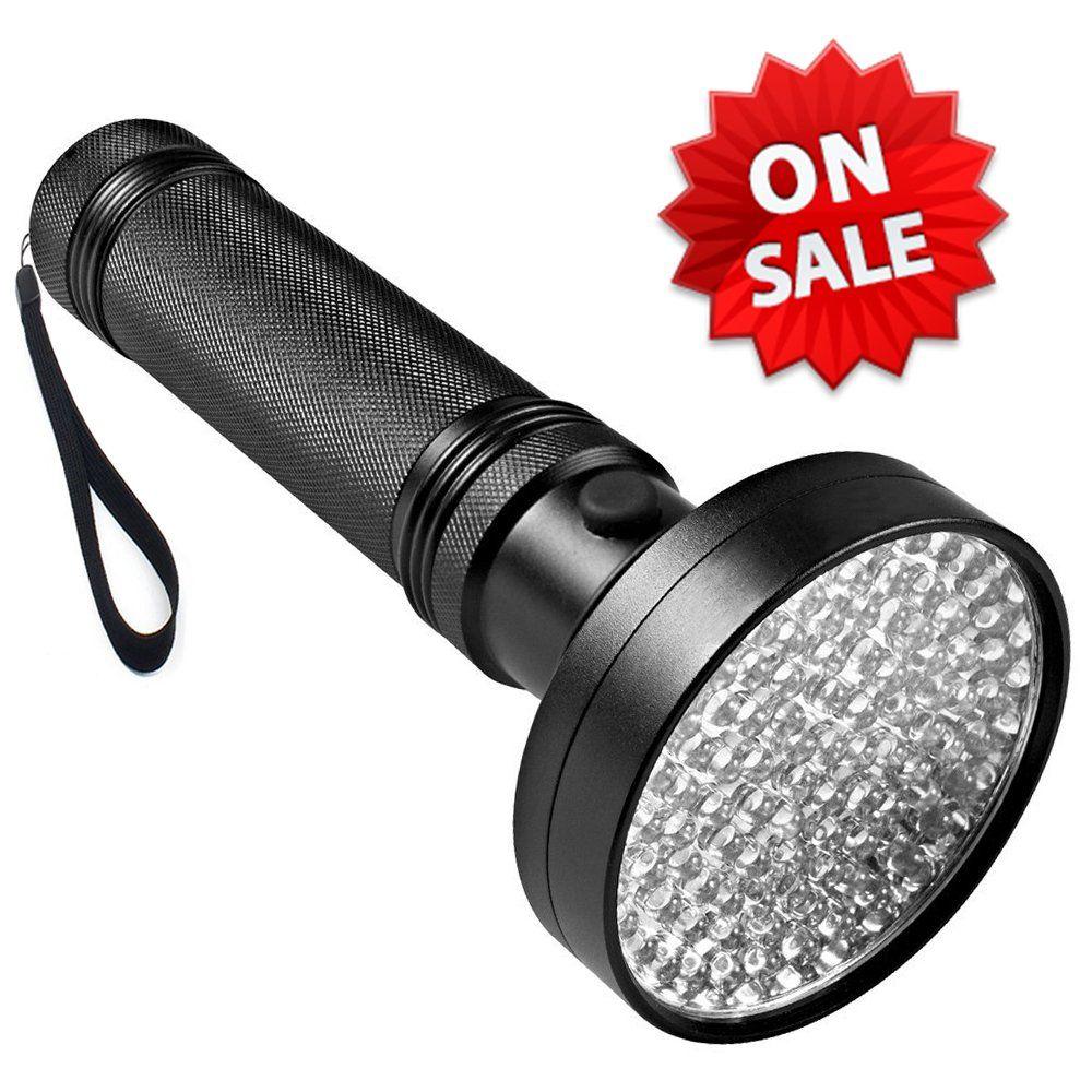 Uv Flashlight Black Light Oboni 100 Led 395 Nm Ultraviolet