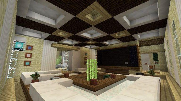 Minecraft Living Room Design Ideas Apartment Concept Minecraft Modern Modern Houses Interior Living Room Design Modern