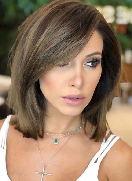 In This Post You May Find Some Kind Of Best Styles Of Short To Medium Length Hairstyles For 2018 Stili Strizhek Pricheski Pricheski Srednej Dliny