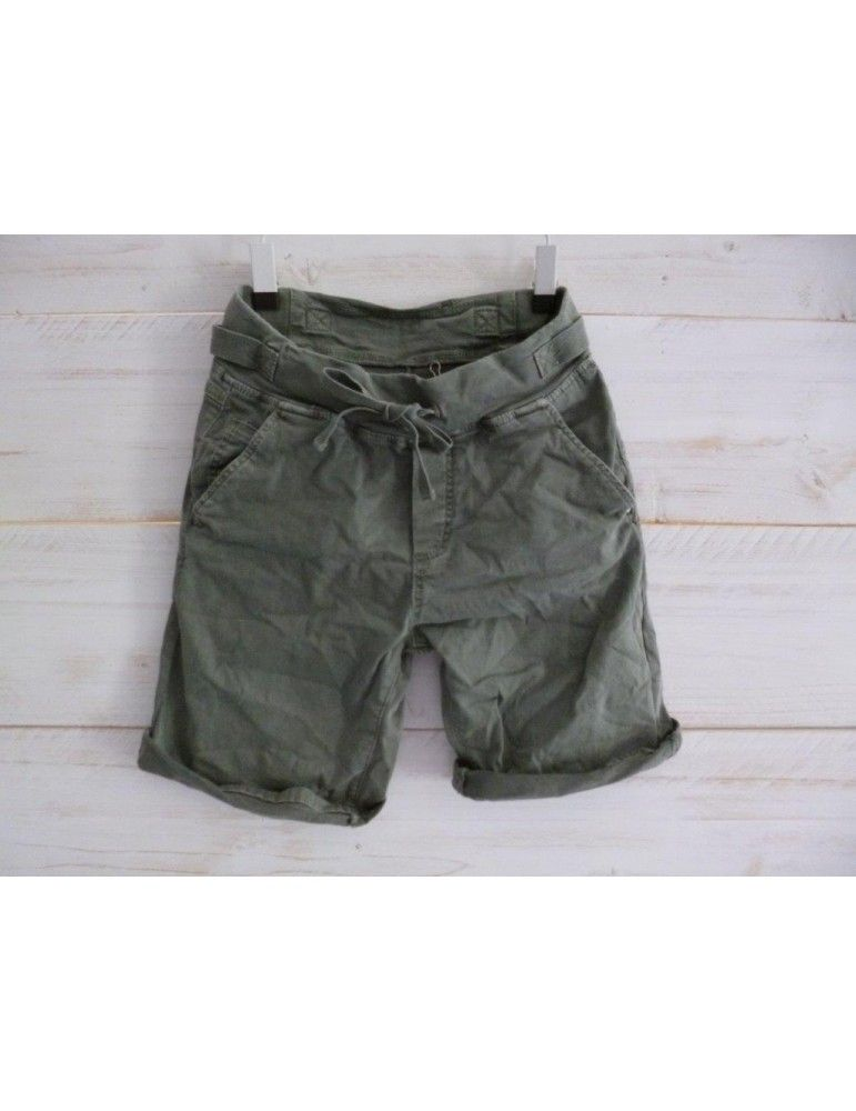 Qualitätsprodukte klassisch Beste Melly & Co Jeans Shorts Jogging Jog Pants khaki oliv Gr S 34 ...
